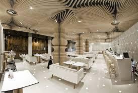 graffiti cafe s stunning restaurant interior design idesignarch via archdaily