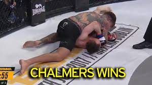 mma siege social geordie shore aaron chalmers wins mma debut as he beats greg