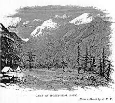 sketch of horse shoe park rocky mountain national park u s
