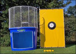 dunk booth rental rentals austintown bounce inc