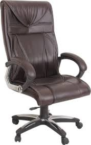 Office Chairs With Price List Ks Chairs Leatherette Office Chair Brown Best Price In India Ks