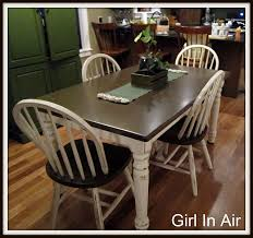 DIY How To Stain And Distress A Table And Chairs Dont Like The - Distressed kitchen tables