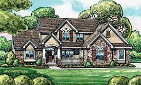 European House Plan European House Plan With Flex Room 42198db Architectural