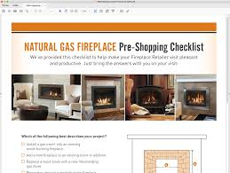 natural gas fireplace pre shopping checklist nw natural