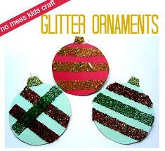 mess free glitter ornament ornament ornament and