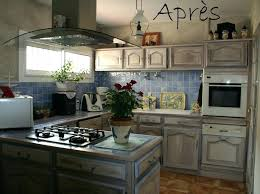 repeindre meubles cuisine relooking cuisine avant apres relooker cuisine rustique avant