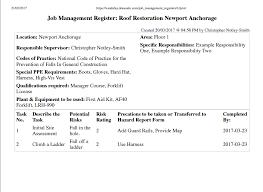 using the job management module for jsea jsa swms etc donesafe