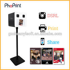 Photo Booth Equipment Photo Booth Party Wedding Selfie Kiosk With Photobooth Software