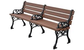 park benches classic park bench premium wood grain treetop products