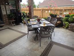 Cheap Patio Flooring Ideas Patio Flooring Ideas For Comfy And Cozy Spot To Step Up Outdoor