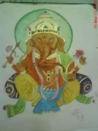 ganesha sand painting my art paintings u0026 prints ethnic