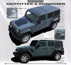 jeep rubicon 2017 maroon 2007 2017 jeep wrangler rundown hood to fender vinyl decal graphic