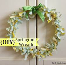 springtime wreaths diy springtime wreath cute wreath for mom randworkshop blogspot