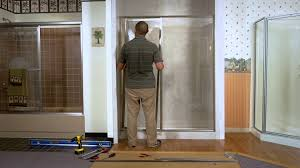 Niagara Shower Door by Shower Doors How To Install A Paragon Framed Door U0026 Adjacent