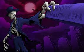 halloween background with purple wallpapers of halloween wallpapersafari