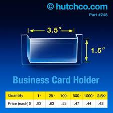 Card Holder Business Business Card Holder Peel U0026 Stick Pocket Hutchcodisplays