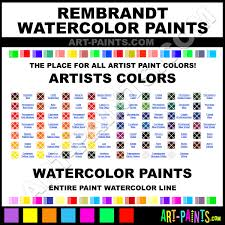 rembrandt artists watercolor paint colors rembrandt artists