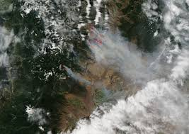 How Many Wildfires In Washington State by Carlton Complex Fire Wikipedia