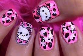 hello kitty nail art tutorials my kawaii home