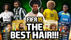 fifa 14 all hairstyles fifa 15 the best hair youtube