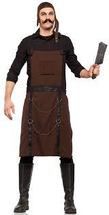 steampunk halloween costume chopping block butcher costume mr costumes