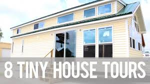 8 tiny house tours youtube