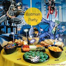 batman party ideas batman party the inspiration vault