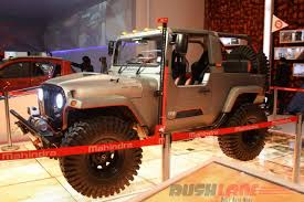 indian jeep mahindra mahindra thar daybreak edition with hard top unveiled at surat