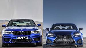 lexus gsf silver 2018 bmw m5 vs 2016 lexus gs f youtube
