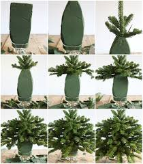 tabletop tree using free clippings