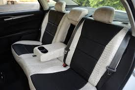 seat covers ford fusion black perforated sof touch covers camo