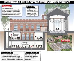 Trump Palace Floor Plans Extension Plans For Kensington Palace Revealed Daily Mail Online