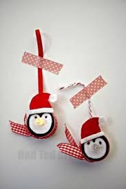 diy tea light penguin ornament craft easy