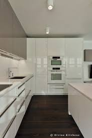 boston modern kitchen white and gray cabinets built in hood