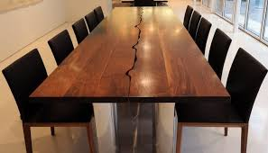 Dining Table Seats  Brown Oval Teak Wooden Dining Table - Black dining table seats 10