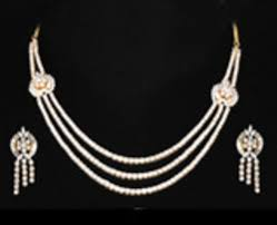 simple diamond set diamond necklese products diamond necklace set wholesaler from