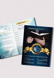 two fold brochure template psd funeral program premium bi fold psd brochure template by