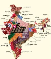 Indian Map Incredible India