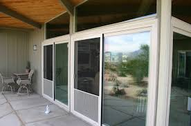 enclosed patio porch in la quinta gorgeous view