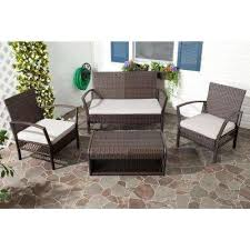 Gray Patio Furniture Sets Charming Grey Wicker Outdoor Furniture And Gray Patio Conversation