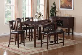dining room table with butterfly leaf florence 7 piece counter height dining set with butterfly leaf