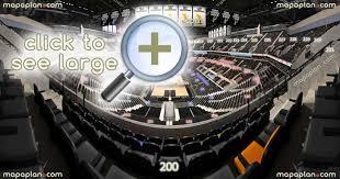 United Center Floor Plan At U0026t Center Seat U0026 Row Numbers Detailed Seating Chart San Antonio