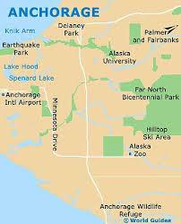 usa map alaska anchorage maps and orientation anchorage alaska ak usa
