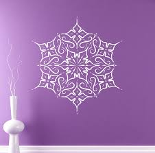 Amazon Wall Murals by Indian Mandala Wall Decal Abstract Flowers Vinyl Sticker Henna