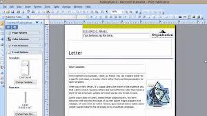 can i create an e newsletter in microsoft publisher microsoft