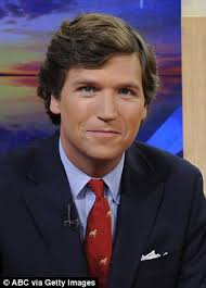 is tucker carlson s hair real tucker carlson to replace megyn kelly at fox news daily mail online