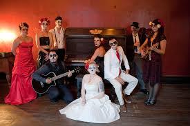 day of the dead wedding a dia de los muertos wedding shoot rock n roll