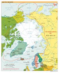 World Map To Scale by Large Scale Political Map Of Arctic Region 2000 Arctic Region