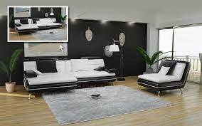 canap amovible canapé d angle avec assise amovible en cuir italien design et pas