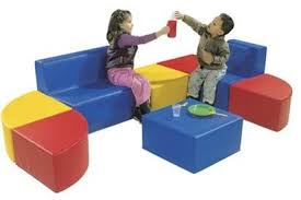 custom design kids sofa for schools and libraries library